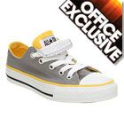 Converse £26.99 These would be awesome with that yellow and gray outfit I like matchy mactchy stuff