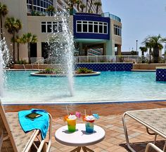 Guests at Laketown Wharf in Panama City Beach, Florida experience the ultimate beach vacation, with five pools including one zero-entry pool overlooking the Gulf of Mexico, a tenth floor rooftop pool, and an island pool secluded at the middle of a private lake.