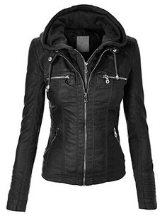 MBJ Womens Removable Hoodie Motorcyle Jacket XL BLACK Made By Johnny http://www.amazon.com/dp/B00VU3QV9K/ref=cm_sw_r_pi_dp_qVOmvb1RJQHQR
