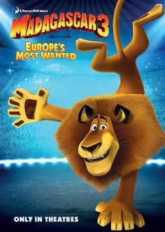 Madagascar 3: Europe''s Most Wanted Movie Posters