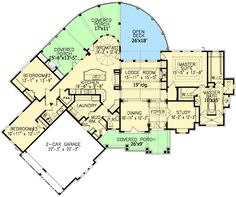 alternate plan 6------- 2343 sq ft on main level add keeping room and adds additional 204sqft for total of 2547