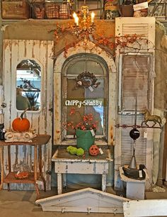 ChiPPy! - SHaBBy!: Architectural Salvage Window w/frame...