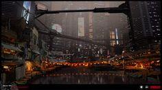 SYNDICATE concept -  harbor by torvenius.deviantart.com on @deviantART