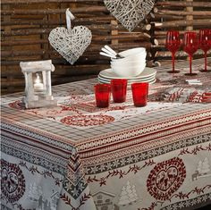Beauville French Table Linen Sale -Tablecloths, Towels – Au Bon Goût Boutique