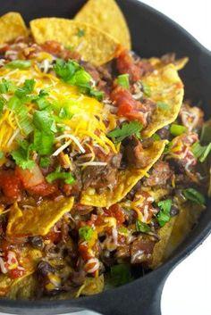The Homestead Survival | Cast Iron Skillet Steak Nachos | Recipe & Homesteading Cooking http://thehomesteadsurvival.com