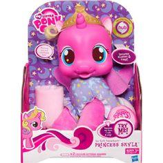 MLP So Soft Newborn Princess Skyla Brushable Figure