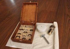 Old shaving box renovation