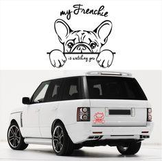 Auto Aufkleber FRENCHIE WATCHING Französische Bulldogge Hund Wilsigns SIVIWONDER | eBay