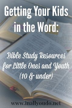 This is my list of our family favorites for Bible Study Resources for Toddlers through age Use this list to help your kids start their own Quiet Time. Family Bible Study, Bible Study For Kids, Kids Bible, Toddler Bible, Disney Hotels, La Sainte Bible, Raising Godly Children, Children Ministry, Raising Boys