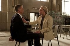 "Javier Bardem and Daniel Craig in ""Skyfall."" The best Bond film in decades! Bardem's villain a cinematic virtuoso performance!"