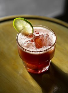 Mexican Firing Squad cocktail recipe: Adpated from St. Mazie. | Photo: Daniel Krieger | tequila, lime juice, grenadine, Angostura bitters