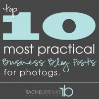 Top 10 Most Practical Business Blog Posts for Photographers