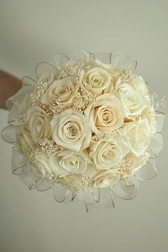 white rose wedding bouquet ideas - Google Search