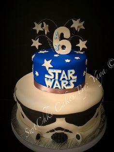 Star Wars theme cake Pinterest inspired