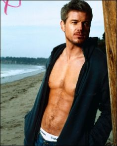 Eric Dane aka McSteamy - While the best friend drools over Dr. McDreamy, I've got my eyes locked right over here. What can I say, I like my fantasies with a little steam ;P