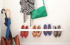 Sapateira diy: uma forma muito simples de guardar seus sapatos