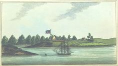 Entrance of Paramatta River by Woodthorpe Pub. March by M. First Fleet, Botany Bay, Historical Pictures, South Wales, Sydney, Entrance, The Past, March, Australia