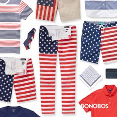 Give me liberty or give me store credit. Enter and pin for a chance to win $1,776 in Bonobos, so you can look your best this Independence Day.