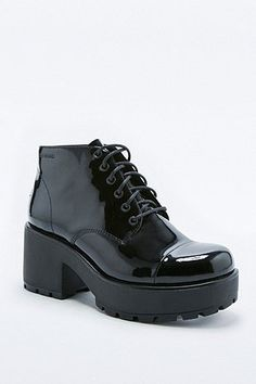 Vagabond - Bottines Dioon vernies à lacets - Urban Outfitters