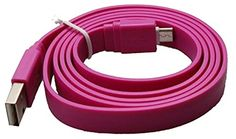 "myLife Candy Violet Purple {Solid Flat Noodle Design} 6' Feet (1.8 Meter) Quick Charge USB 2.0 Micro USB to USB Data Sync Cord for Phones, Cameras, Tablets and GPS Devices ""SEE COMPATIBILITY"" (Durable Rubber Coat) myLife Brand Products http://www.amazon.com/dp/B00O7WIUOK/ref=cm_sw_r_pi_dp_CB-tub17KN9ZY"