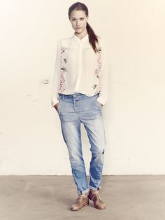 Mos Mosh // Rosie_Shirt Bliss_Jeans