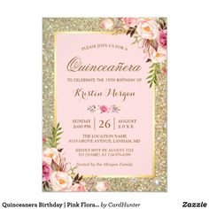 Looking for a suitable baby girl shower invitation? Blush pink theme invitations are the perfect choice for a new mother-to-be expecting her sweet baby girl. Take a look at these lovely blush pink invitations you'll love it. Glitter Invitations, Sweet 16 Invitations, Engagement Party Invitations, Birthday Invitations, Quince Invitations, Custom Invitations, Invites, Baby Shower Floral, Sparkle Baby Shower