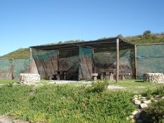 Aapgat campsite (Blombosch near Yzerfontein Campsite, Cape Town, Gazebo, Trail, Outdoor Structures, Plants, Camping, Kiosk, Pavilion