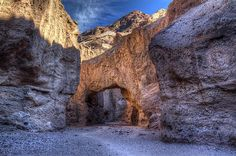 Natural Bridge in Death Valley National Park Photograph