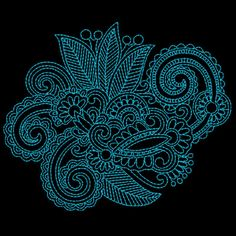 CinDes Embroidery Designs - Paisley Designs 2015 Collection