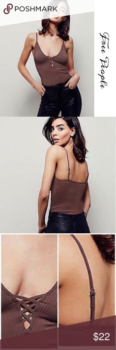 🎀FREE PEOPLE INTIMATELY CROSSFIRE TANK🎀 NWT, gorgeous Free People Crossfire Tank top. Perfect for layering or wear it just like that. Featuring a Lace up V-Neckline. Adjustable straps. Beautiful Plum color. Free People Tops Tank Tops
