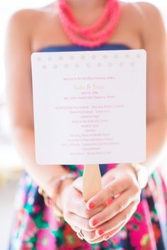 Bride Spotlight | Kadie Stark | Destination wedding programs | Gold + blush #realwedding