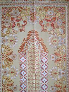 NEW SATIN islamic prayer rug - CARPET - Mat Namaz Salat Musallah Sejadah gift