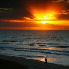 Sunrise over North Myrtle Beach, SC
