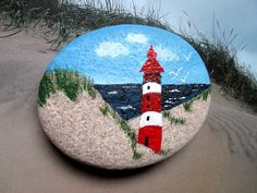 Painting Concrete, Pebble Painting, Pebble Art, Stone Painting, Beach Rock Art, Beach Rocks, Rock Painting Patterns, Rock Painting Designs, Hand Painted Rocks