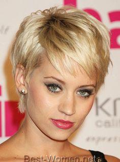 Женские стрижки на короткие волосы. Фото.