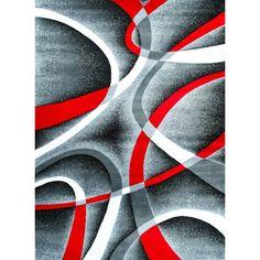Persian-rugs Modern Gray Area Rug | AllModern