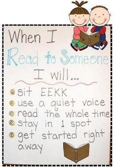 First Grade Fever!: Gettin' Into the Swing of DAILY 5-Read to Someone