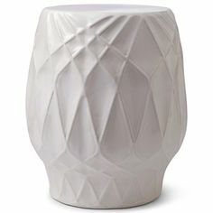 Happy Chic by Jonathan Adler Embossed Ceramic Stool - jcpenney