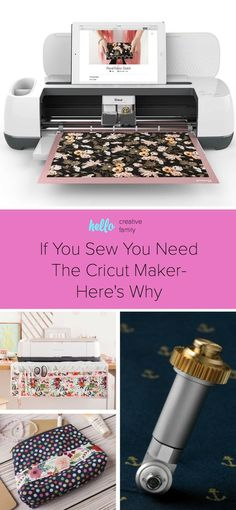 Do you sew? If so you need the Cricut Maker! Cricut's new machine is the best thing that has happened in the sewing world in a long time. This article breaks down the many features, shares some awesome Cricut Maker made sewing projects and counts down the
