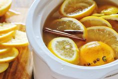 Slow Cooker Hot Mulled Apple Cider by Syrup and Biscuits