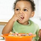 Serving Sizes for Toddlers + Average Daily Intake of protein, grains, vegetables, dairy, and legumes