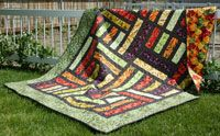 Chopped by Joanne Hillestad in Best Fat Quarter Quilts 2014.