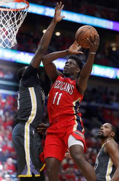 f67994ace New Orleans Pelicans  Jrue Holiday (11) takes a shot against Golden State  Warriors