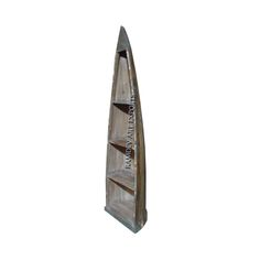 Indian Boat Book Case Item Code : RD-BK 04-1 Item Size : 64X45X205