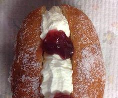 Recipe Jam & Cream Donuts by pkwilly - Recipe of category Baking - sweet