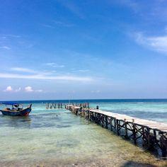 Thousand Island, Indonesia.
