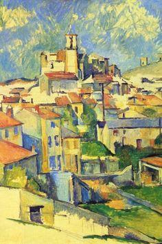 """""""Gardanne"""" Paul Cézanne"""