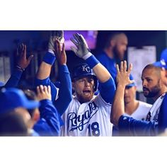 Z-Man gets it started with a bomb!  #TakeTheCrown   royals.com