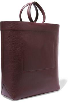 Jil SanderTextured-leather tote