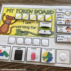 When using token boards in your classroom, it's important that your students understand the criteria to earn tokens and that they know what… Classroom Behavior, Autism Classroom, Preschool Behavior, Behavior Board, Future Classroom, Behaviour Management, Classroom Management, Behavior Plans, Behavior Charts
